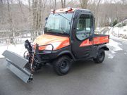 2011 Kubota RTV 1100 Diesel Plow 4X4
