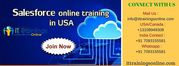 Salesforce online Training in USA‬