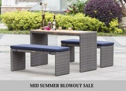 Want end of season sale in mid summer? All furniture up to 57% OFF