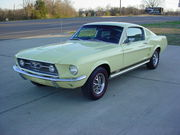 1967 Ford Mustang Fastback Automatic