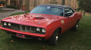 1971 Plymouth Barracuda ralleye w leather seats