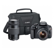 Canon - EOS Rebel T5 DSLR Camera with 18-55mm and 75-300mm Lenses